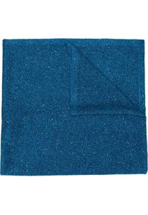 Missoni Cachecol Com Brilho - Azul