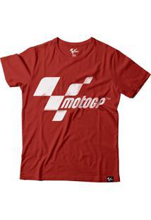 Camiseta Motogp Fan - Vermelha Grid Motors Fan Vermelho