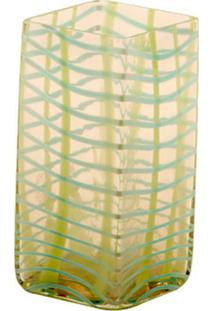 Vaso De Vidro Decorativo Ligth Green Pequeno