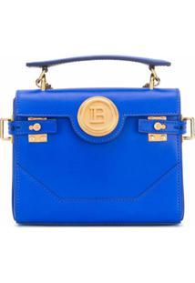 Balmain Bolsa Transversal B-Buzz - Azul
