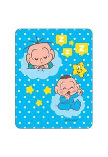 Cobertor Turma Da Mônica Baby Estampa Localizada - Cebolinha 1