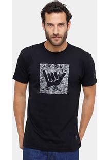 Camiseta Hang Loose Silk Army Masculina - Masculino