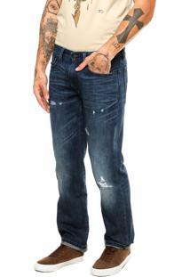 Calça Jeans Levis Destroyed Azul