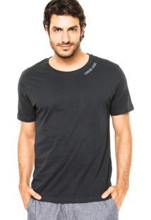 Camiseta Forum Gola Redonda Azul-Marinho