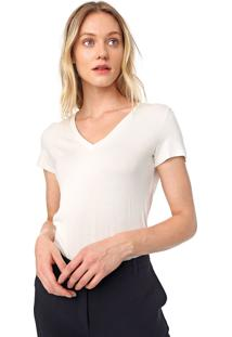 Blusa Dudalina Lisa Off-White