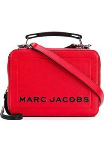 Marc Jacobs Bolsa Mini Box - Vermelho