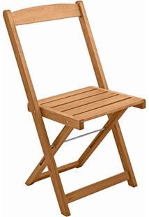 Cadeira Dobrável Orquídea Madeira