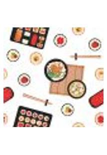 Papel De Parede Adesivo - Sushi - 052Ppc