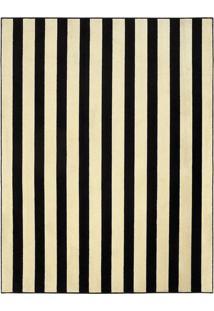 Tapete Tufting Ilusion- Preto & Off White- 390X300Cmtapete Sã£O Carlos