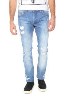 Calça Jeans Sommer Skinny Matheus Azul