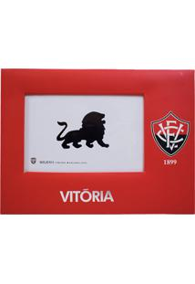 Porta Retrato Minas De Presentes Papelão Para Uma Foto 15X10Cm - Vitória Vermelho - Kanui