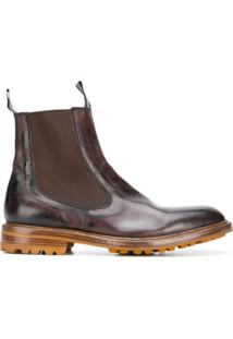 Green George Ankle Boot - Marrom