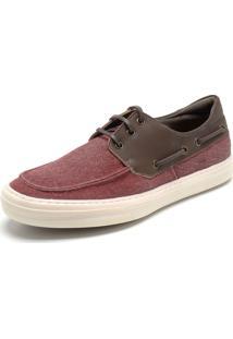 Sapato Mariner Cadarço Vermelho