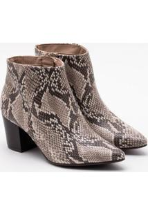 Ankle Boot Via Marte Snake Natural 34