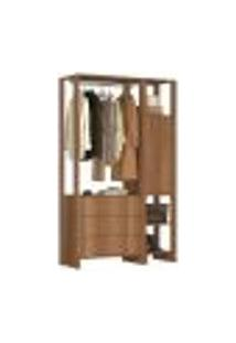 Guarda Roupa Closet 01 Porta 03 Gavetas Yes Ey102.107 Montana Nova Mobile