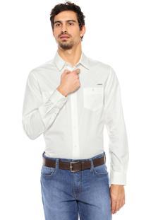 Camisa Colcci Slim Bege