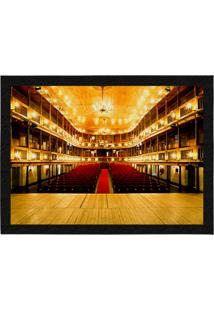 Capacho - Tapete Colours Creative Photo Decor - Teatro Amarelo