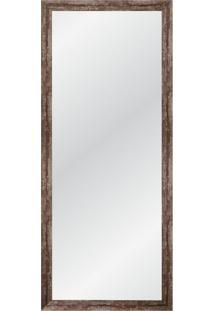 Espelho Decorativo Industrial Ll 135X55 Nogueira