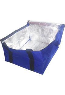 Bolsa Térmica Lancheira Fitness 12 Litros - Unissex-Azul