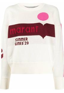 Isabel Marant Étoile Suéter Summer '20 - Neutro