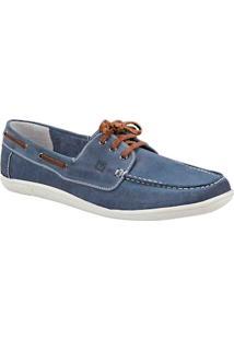 Sapato Masculino Dockside Sandro Moscoloni Richmond Azul
