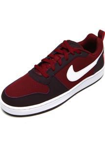 Tênis Nike Sportswear Court Borough Low Vinho