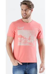 Camiseta Masculina Estampa Surf Frase Marisa