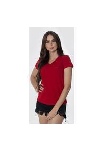 T-Shirt Osmoze Z 602110167 Vermelho