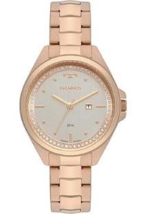 Relógio Technos Trend Feminino - Feminino-Rose Gold