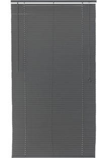 Persiana Horizontal Pvc Top Flex 160X100Cm Cinza
