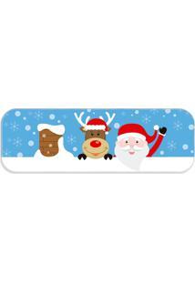 Passadeira Love Decor Happy Christmas Único - Kanui