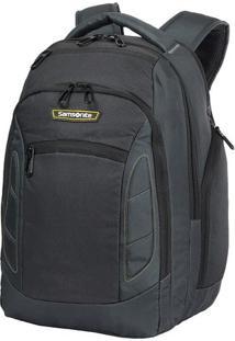 Mochila Foxtrot Laptop- Cinza Escuro & Amarela- 46,2Samsonite