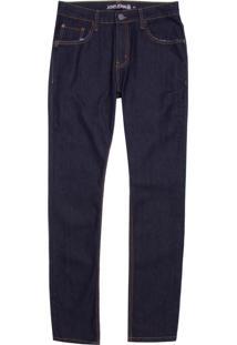 Calça John John Skinny Nepal Jeans Azul Masculina (Jeans Escuro, 40)