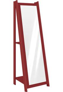 Espelheira- Vermelha- 161X50X51Cm- Movelbentomovel Bento