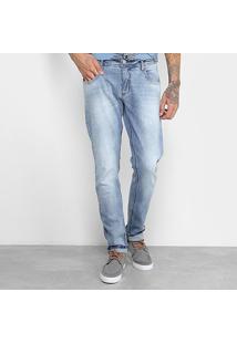 Calça Jeans Skinny Forum Estonada Masculino - Masculino-Azul Claro