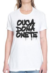 Ouça Dona Onete - Camiseta Basicona Unissex