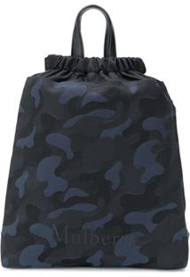 Mulberry Urban Drawstring Camp Backpack - Preto