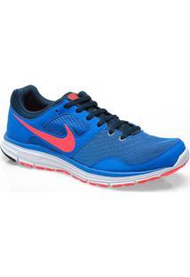 Tenis Masc Nike 554677-464 Lunarfly +4 Azul/Rosa Neon