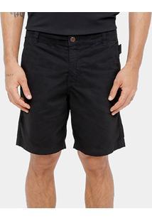 Bermuda Ellus Sarja Bolso Faca Color Slim Masculina - Masculino