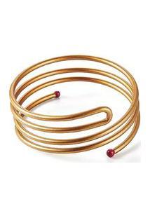 Prendedor De Cabelo Spin Pin Dourado