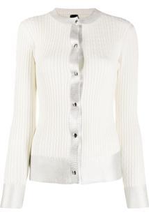 Pinko Knitted Cardigan - Branco