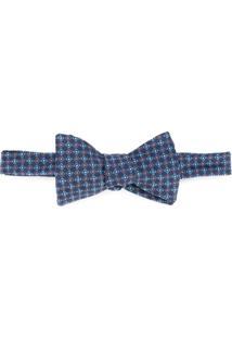 Gieves & Hawkes Gravata Borboleta De Seda - Azul