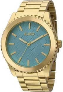 Relogio Euro - Eu2036Ydz/4A - Feminino-Dourado