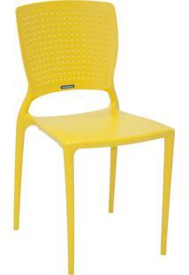 Cadeira Tramontina Safira 92048/000 Amarelo Se