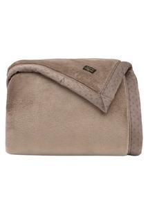 Cobertor Manta Blanket 700 Casal Caqui - Kacyumara