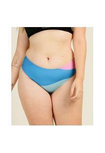 Biquíni Plus Size Feminino Avulso Estampado Banho De Mar