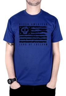 Camiseta Bleed American Land Of Freedom Royal