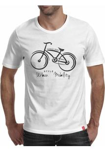 Camiseta Casual Sport Urban Mobility Branca