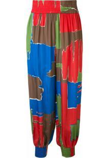 Tory Burch Calça De Pijama Com Estampa - Estampado
