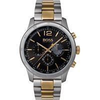 3d6626005dd Relógio Hugo Boss Masculino Aço Prateado E Dourado - 1513529 Vivara